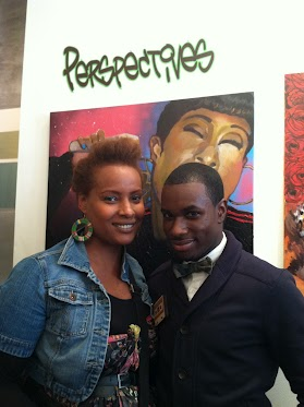 Maisha and Brooklyn artist, Byron McCray